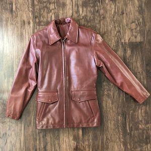 Coach: Vintage leather jacket